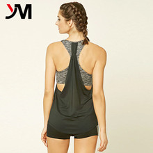 Women Workout Top Strappy Camisole Yoga Fitness Tank Wholesale Gym Singlet For Women