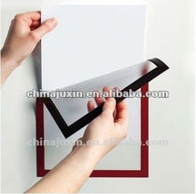 document show case with magnetic/double faced adhesive tape