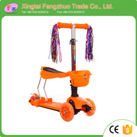 Factory direct cheap price freestyle three wheel kids mini kick scooter sale