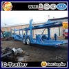 2 axle 15m car transport truck trailer for carrying small car