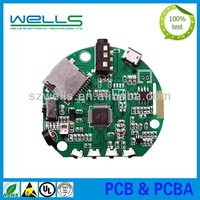 BGA pcb board,smt pcb assembly,high tg pcb assembly for solar light controller