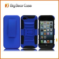 Guangzhou factory belt clip holster case for iphone 5