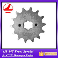 428 gear 14t CG125 motorcycle front sprocket