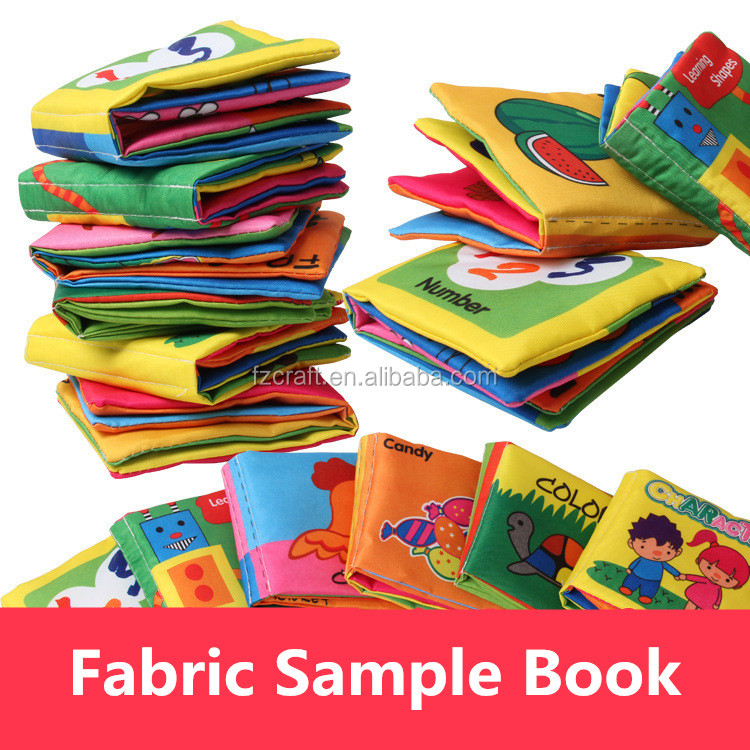 China cheap educational baby cloth book fabric simple book for Cheap kids fabric