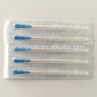 hwato brand copper handle acupuncture needle sterile acupuncture needle with loop factory price length 100mm 125mm