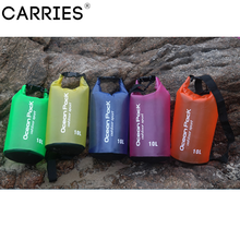 Outdoor Waterproof PVC Rafting Dry Bag Resistant Protective Storage for Canoe Hiking Camping