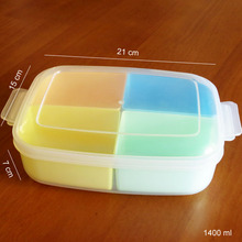 China Manufacturer Colorful Stackable Reusable Meal Prep Containers With Removable Tray