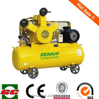 Denair high quality Portable piston air compressor with air tank