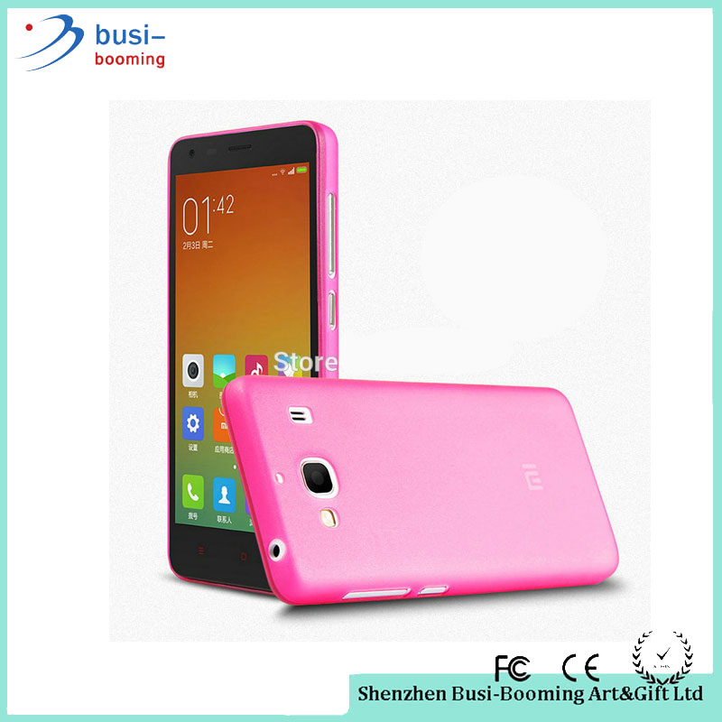 2016 Latest Innovative Products Transprent Soft TPU Silicon Gel Skin Matte Back Cover Bumper Case For Xiaomi Redmi 2