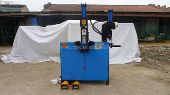 Scrapping industrial electric motor recycling machine ztj for Electric motor recycling machine