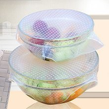 Food grade silicone stretch cling warp lid/silicone cling film for food