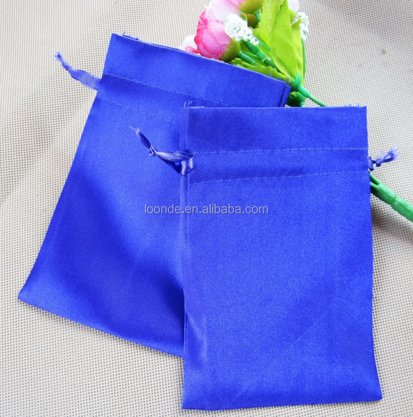 China factory luxury print satin event goodie bag