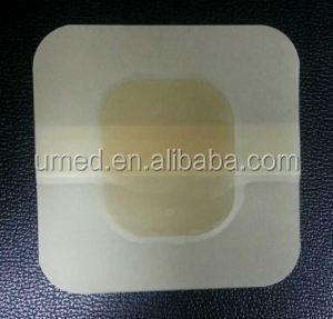 medical self adheisve transparent hydrogel wound care plaster