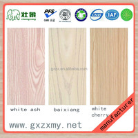 Incense cedar core no paint surface melamine plates type ecological wood board