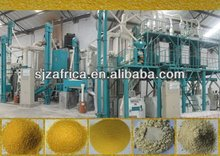 corn mill machine and maize flour mill for maize sump maize grits maize meal with complete line.