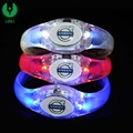 20218 Factory Hot Selling Sound Controlled Activated Glowing Bangle For Christmas