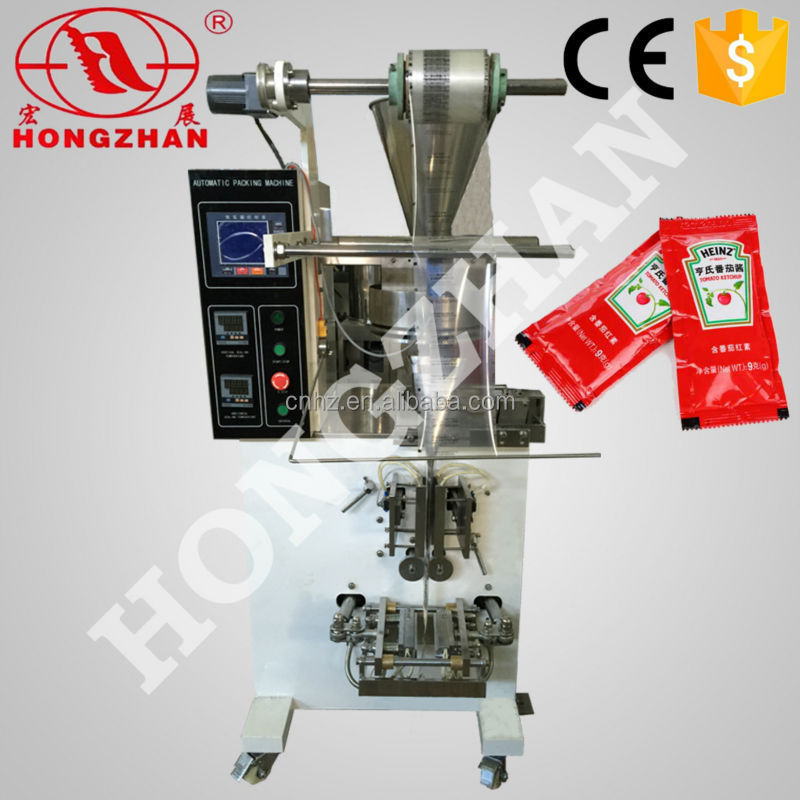 price for hotsale Hongzhan HP-100P full-automatic vertical paste small packet packing <strong>machine</strong>