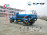 4000L high pressure sewer jetting truck,water jetter truck