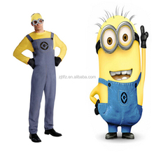 Wholesale New style movie Despicable Me Minions costume adult anime cosplay costume in stock