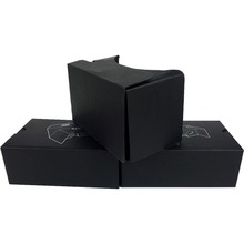 Free to send samples best 3d vr glasses google cardboard gift box Company souvenirs
