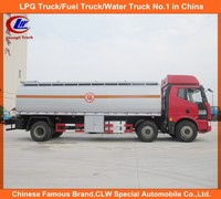 Used Oil Tank Truck Faw 8 wheel Oil Tanker Truck 6x2 for sale with free spare parts