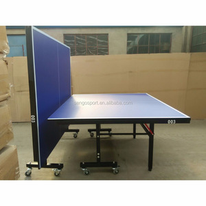 18MM TOP 40MM METAL LEG DOUBLE FOLD TABLE TENNIS / PING PONG TABLE