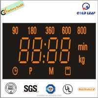 Microwave oven 4 digits LED Digital Display panel