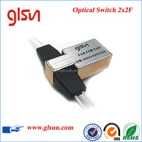 2x2F Mechanical Fiber Optic Switch For
