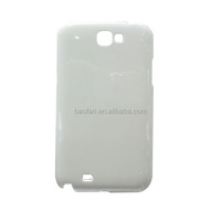 3D blank sublimation mobile phone cover for samsung galaxy note2 7100