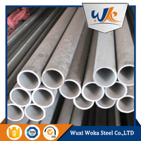 304L seamless stainless steel pipe/tube price per ton