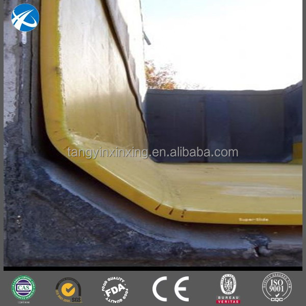Manufacturer Supplier uhmwpe Dump Truck Trailer bed HDPE liner