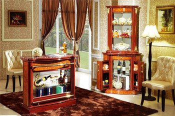 Wholesale Vintage Decor Bar Table And Decorated Cabinet