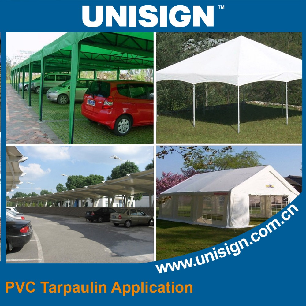 Multipurpose Waterproof Plain Coated Tarpaulin PVC for truck cover