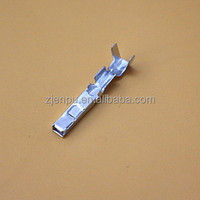 Brass Wire Harness Auto Electrical Metal Banana Plug Terminal For Low Voltage DJ625-2.2A/B