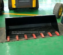attachment for skid steer loader,combination Multi purpose 4in1bucket,teeth bucket