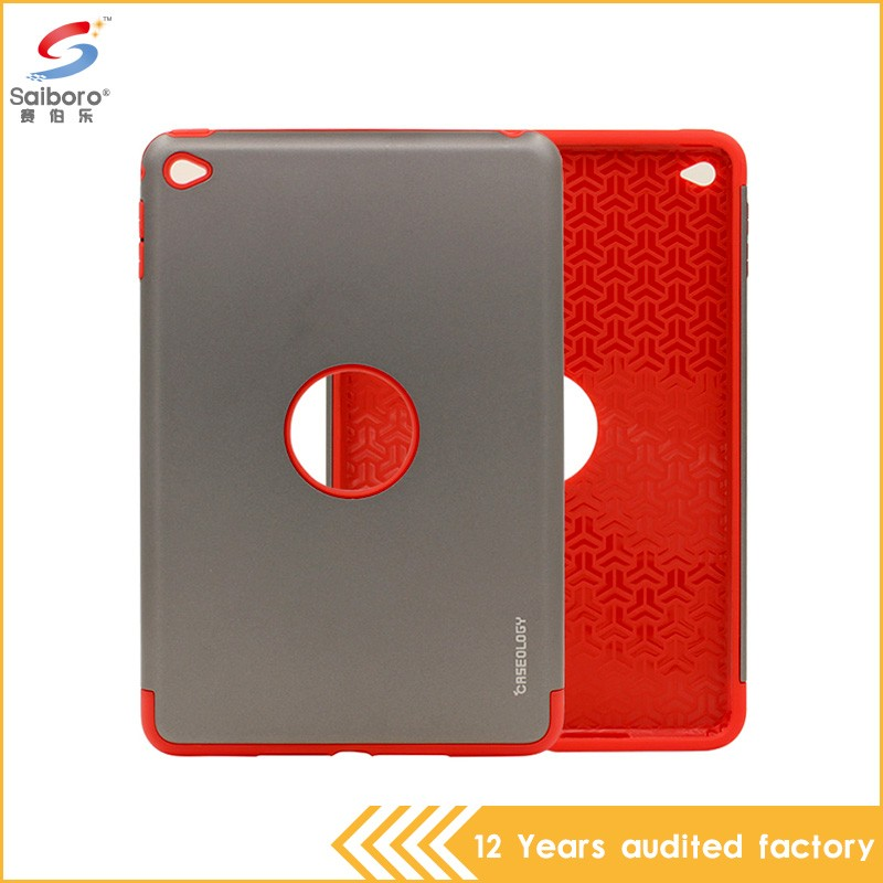Latest design high quality PC with TPU perfect combination for ipad waterproof case