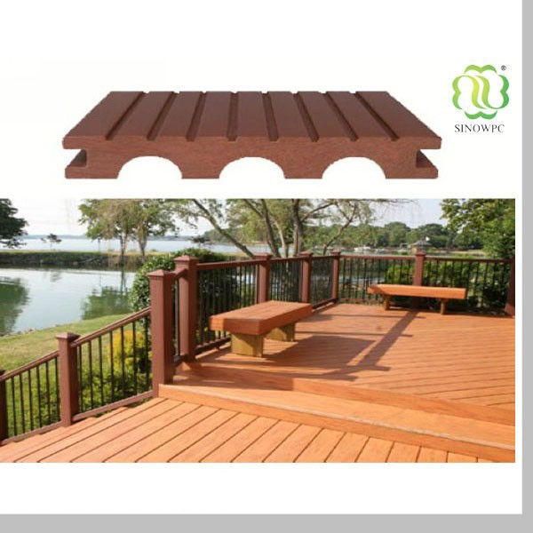 Wood plastic composite material outdoor decking exterior floor buy exterior flooring for Composite wood panels exterior