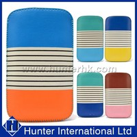 Colorful Universal For Mobile Phone Leather Pouch Case