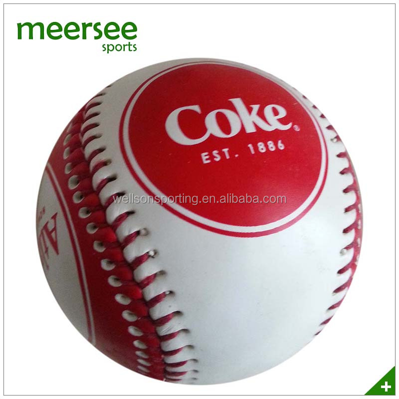OEM branded hand sewn training quality baseball ball