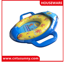 high quality kids toilet seat cover with handles