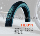 Motorcycle tire various size 2.50-17 Chinese Manufacturer Tubeless Tyre with Cheap Price