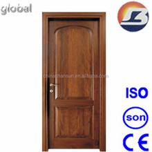 Light Black Walnut Wooden Door