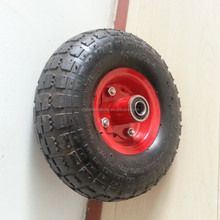 hand truck small rubber wheel 13x4.00-6