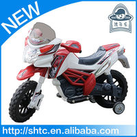 2016 hot motorcycle newest design pp material battery toy car