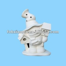 Magic Unpainted White Ceramic Bisque Figurine