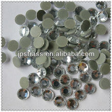 ss20 16 cut with 8 big and 8 small clear color Korean hot-fix rhinestone ;korean quality transfer stone crystal
