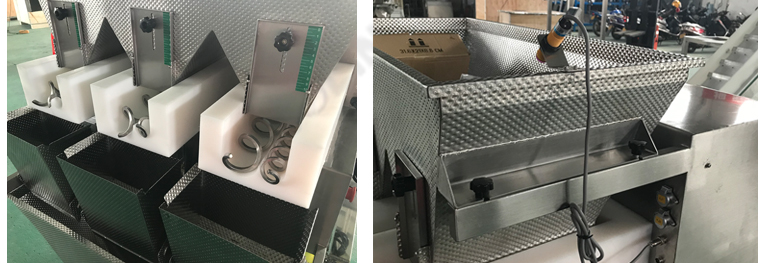 Bread pickle packing weigher with Unique screw feeder design