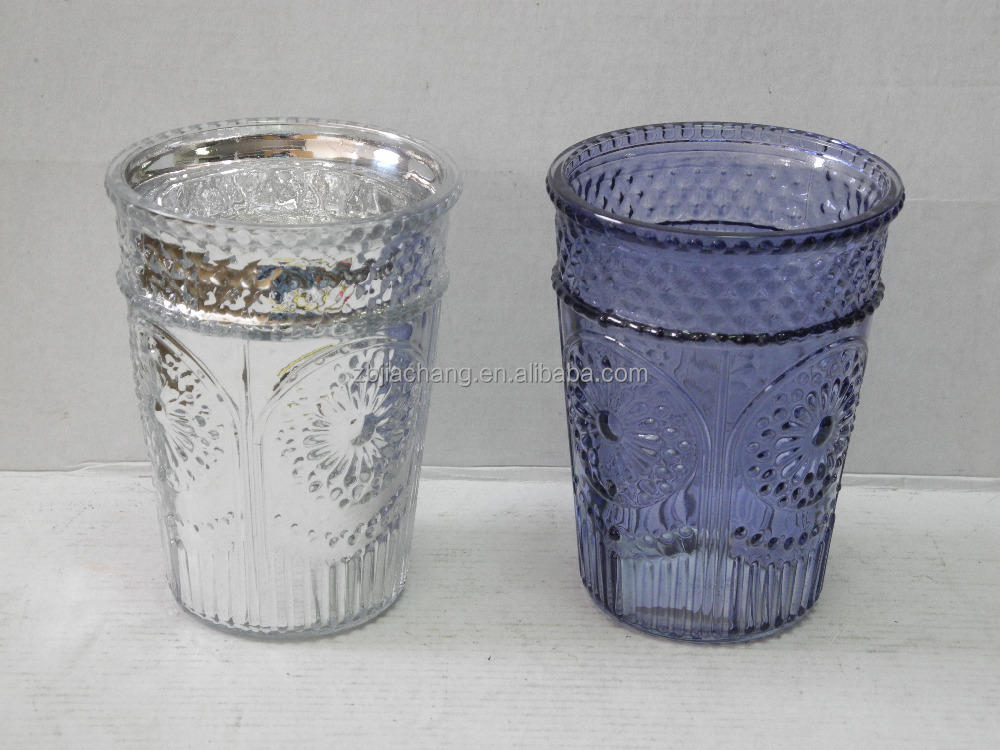 Manufacturer Embossing Color Antique Murano Glass Vases