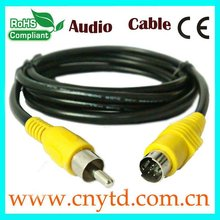 yellow color convertidor de cable hdmi al cable rca MD4P CABLE