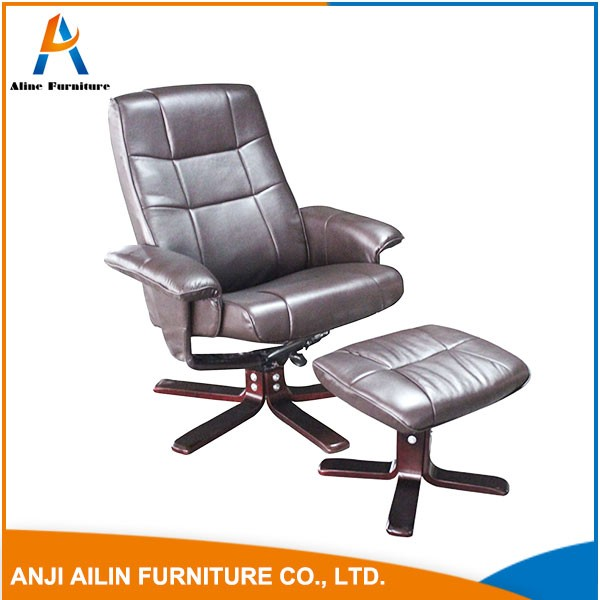 zhejiang furniture reclining relax chair with ottoman